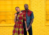 Photo Credits: Editorial Name: AfriDally Photographer: Emmanuel Lopez Creative Director, Stylist, Makeup Artist: LoudPen Models: Danielle Mia Moore and Justin Collins Casting & Production: 8515 Designers: BabaAfrik Outfits Jewelry: Strut Makeup: Civilized Cosmetics Publication: de la Pen...All Pen Everything Publisher: ISLP