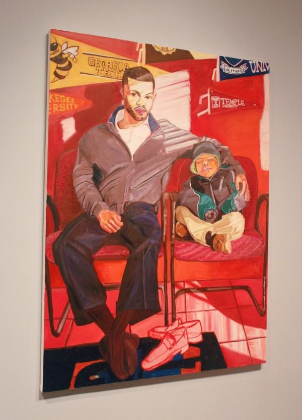 "Art by Jordan Casteel from ""Returning the Gaze"" at The Denver Art Museum (Image by LoudPen)"