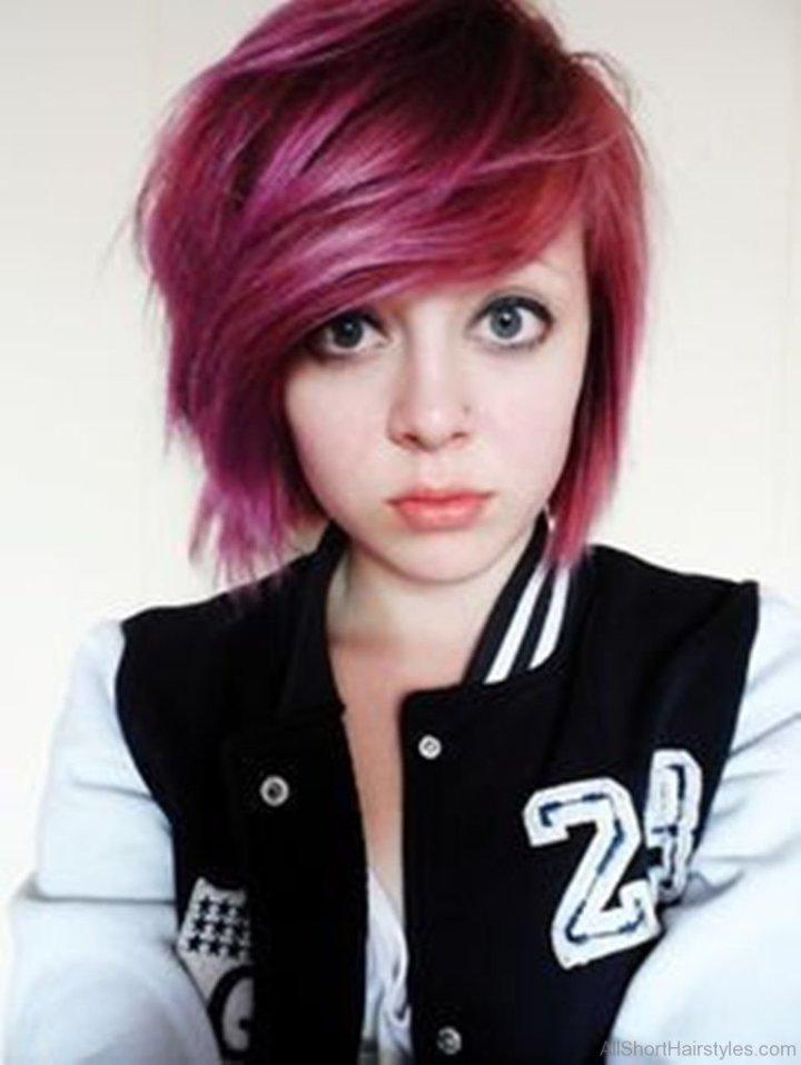 Cute Emo Girl Short Haircuts Daily Health