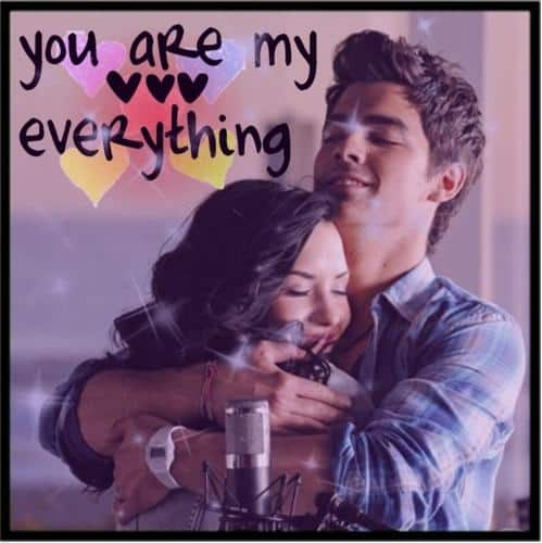 YOU ARE MY EVERYTHING whatsapp dp