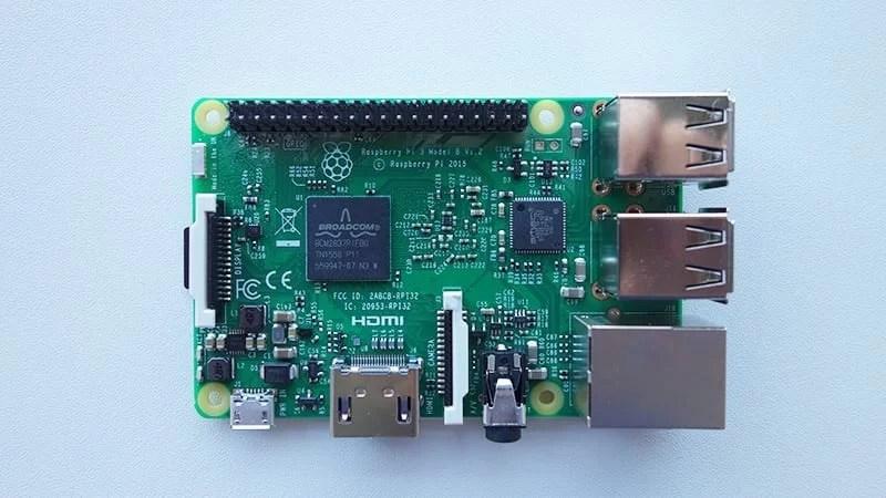 raspberry 3 model
