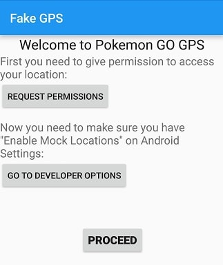 pokemon go without moving permission