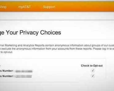 nsa opt out AT&T - all that nerdy stuff