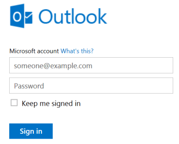 Outlook.com POP3 IMAP SMTP