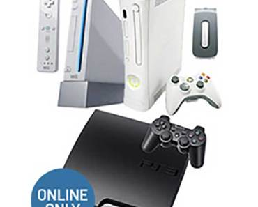 Gamestop Blast from the Past Bundle Xbox 360 PS3 Wii