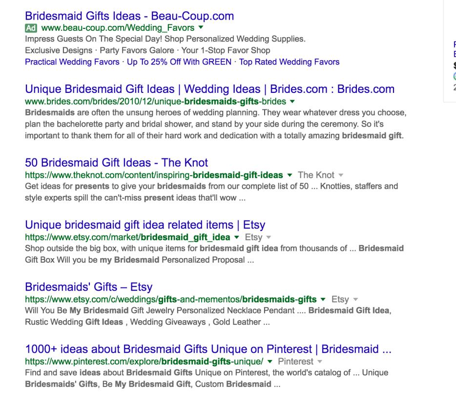 Google Search Results- SEO