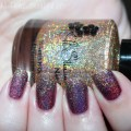 Check out my swatches for this combo using KBShimmer Nail Polish in I Feel Gourd-geous & Fig-Get About It to create some serious holo love! on All Things Beautiful XO | www.allthingsbeautifulxo.com