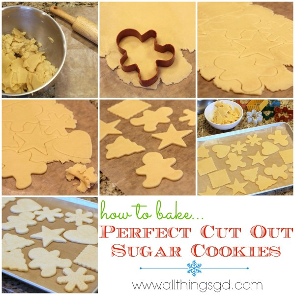 How to make, bake, and frost PERFECT cut out sugar cookies - it's easier than you think! | www.allthingsgd.com