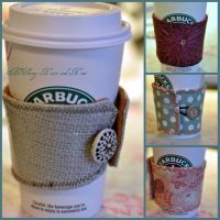 DIY Coffee Cozy~