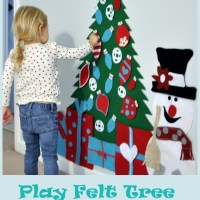Play Felt Christmas Tree &Frosty!