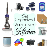 Our Organized Autumn Kitchen (& a Target Card Giveaway!)