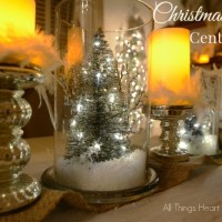 Christmas Jars - 5 Minute Centerpiece