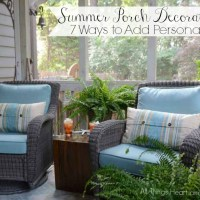 Summer Porch Decorating- 7 Ways to Add Personality!