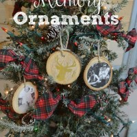 Rustic Memory Ornament
