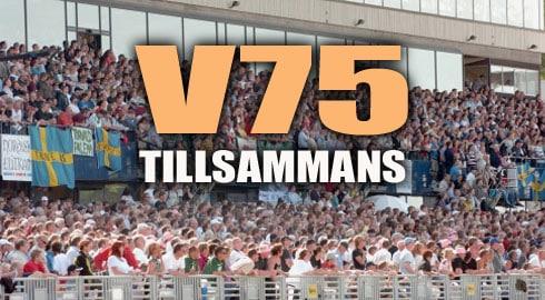 V75TILLSAMMANS1 V75 Tillsammans