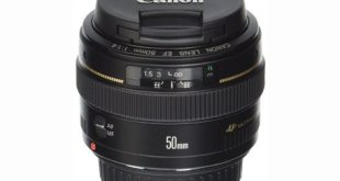 1. Canon EF 50mm