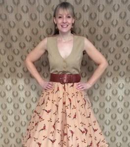 Helen pheasant skirt 1