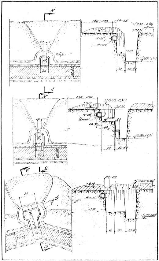 Adjacent fire positions