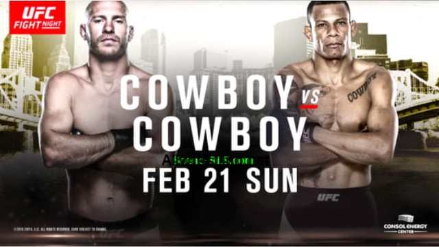 Watch UFC Fight Night 83: Cowboy vs. Cowboy 2/21/2016 Full Show Online Free