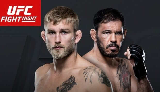 Watch UFC Fight Night 100: Bader v Nogueira 2 11/19/2016 Full Show Online Free