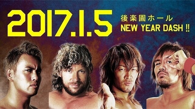 Watch NJPW New Year Dash 2017 1/5/2017 Full Show Online Free