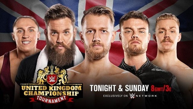 Watch WWE UK Championship Tournament 1/14/2017 DAY 1 Full Show Online Free