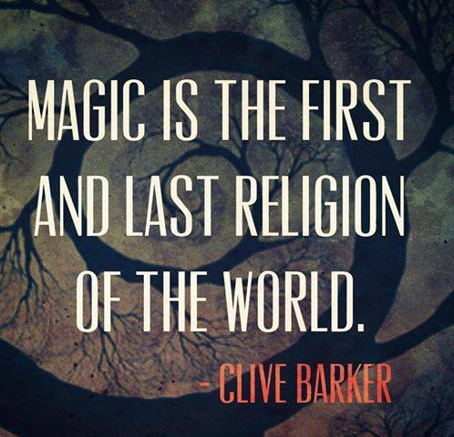 Clive Barker quote