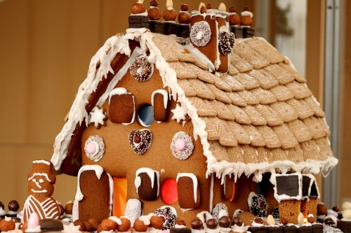 Medium Of Gingerbread House Decorations