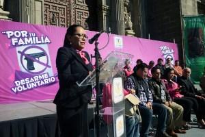 La secretaria de Desarrollo Social del DF,Rosa Icela Rodríguez.