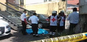 Uno de los presuntos agresores quedó herido y fue trasladado al hospital de Xoco