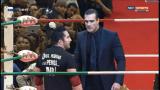 En improvisado encuentro, Alberto del Rio derrota a Perro Aguayo Jr. en Triplemanía