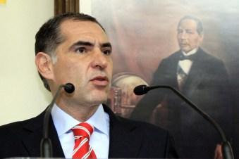 Gabino Cué, actual gobernador de Oaxaca