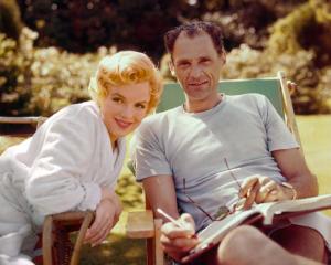 Arthur Miller y Marilyn Monroe