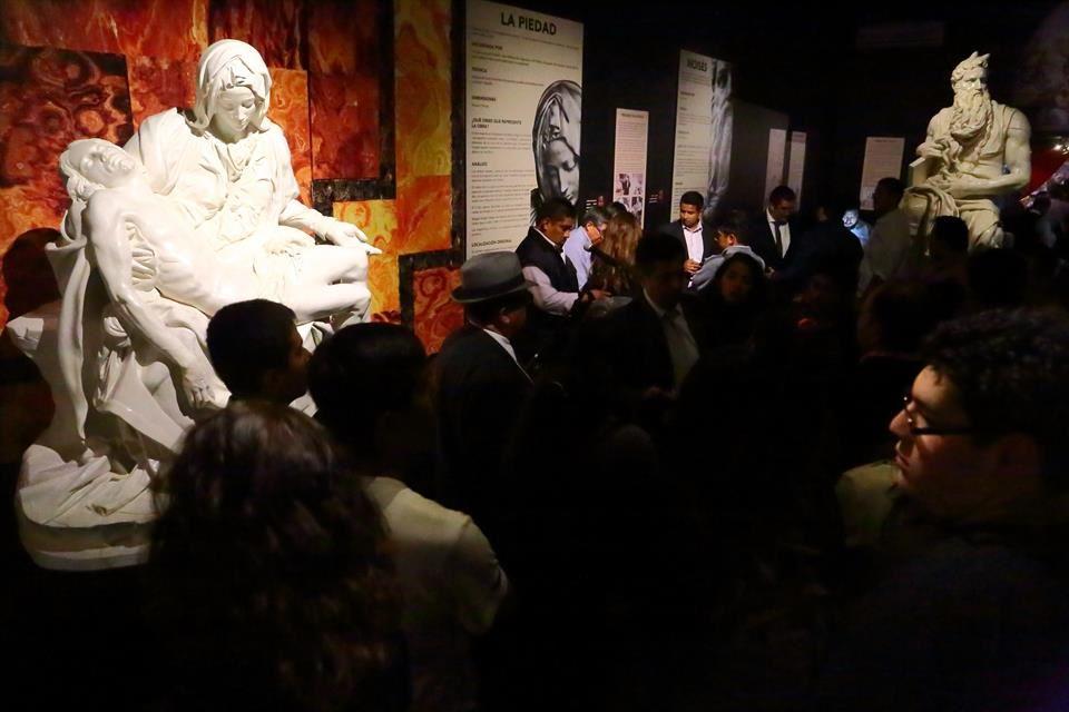 Miguel Ángel, El Divino, exposición en la Galería del Palacio Municipal