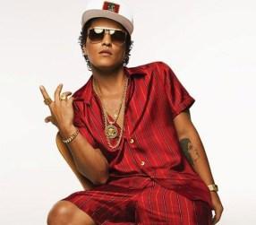 Bruno Mars ya participó en el mítico desfile de lencería