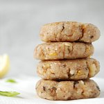 Lemon Basil Walntut Cookies