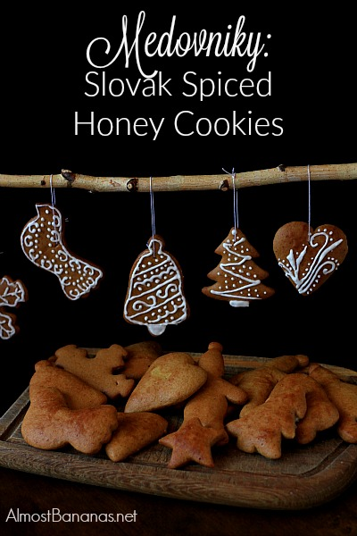 Medovniky, a Slovak Spiced Honey Cookie, is a favourite in the winter months - Almost Bananas