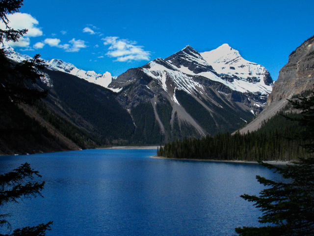 Mt. Robson and Kinney Lake, Canada - Almost Bananas