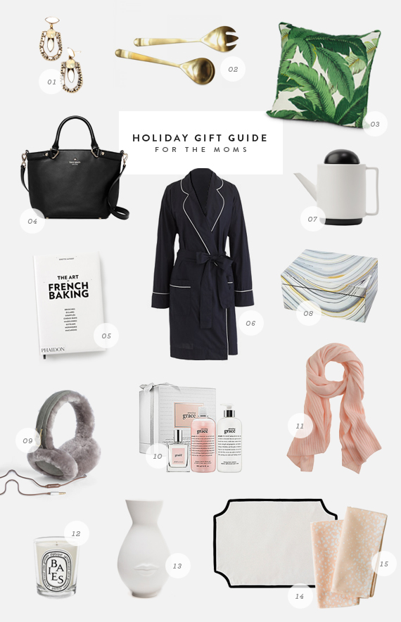 holiday gift guide - moms