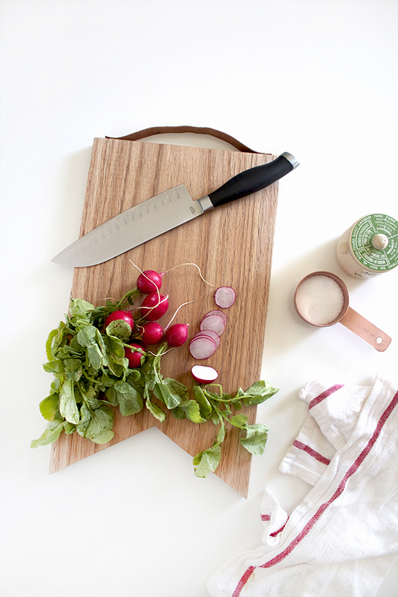 diy wood cutting board by almost makes perfect