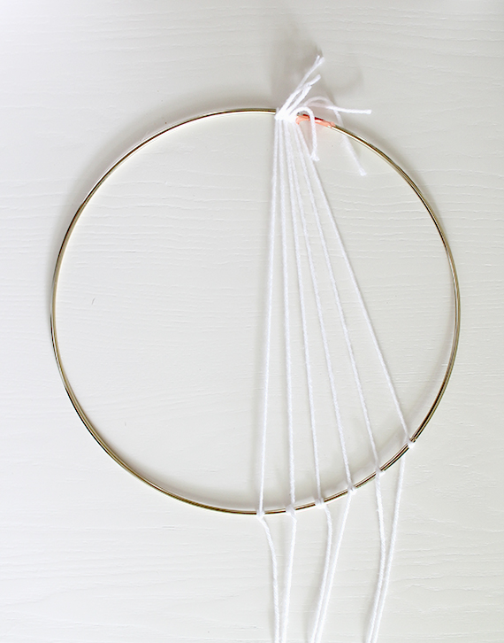 diy modern dreamcatcher