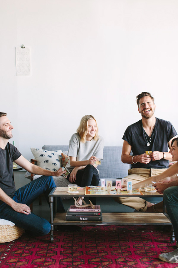 how to host a grown-up game night | almost makes perfect
