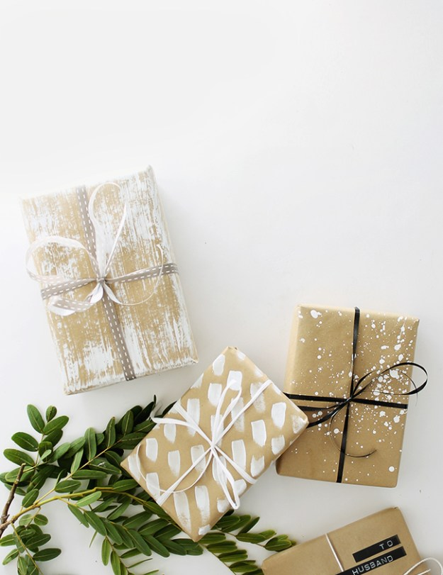 diy gift wrap ideas | almost makes perfect