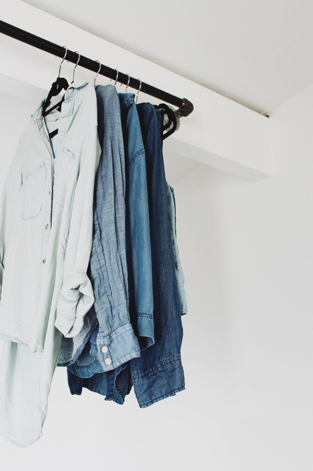 how to purge your wardrobe | almost makes perfect