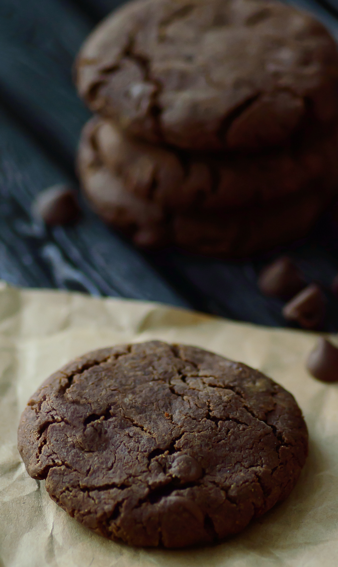 Paleo Ultimate Double Chocolate Cookies