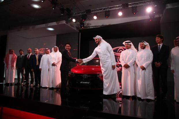 2016 Camry launch in Saudi Arabia