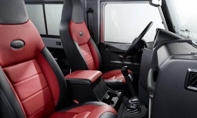 التصميم الداخلي للسيارة لاند روفر ديفندر 2016