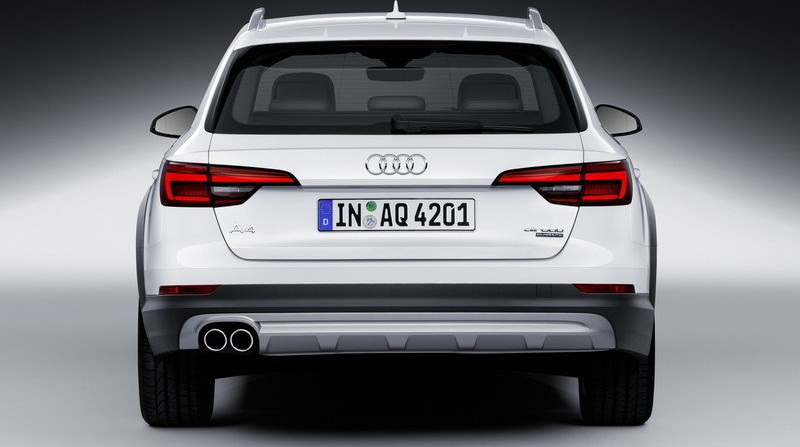 التصميم الخلفي للسيارة اودي A4 Allroad Quattro 2017