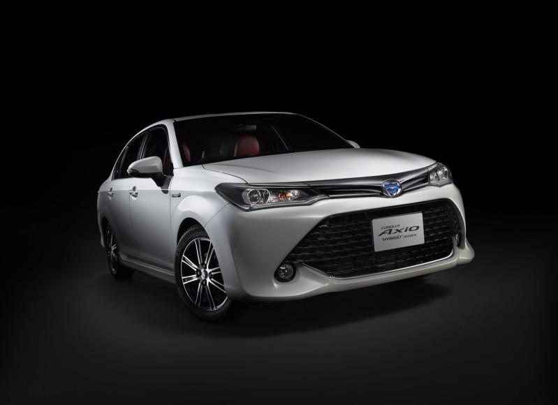 Toyota Axio 2016