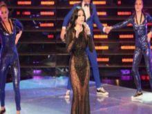 داعش يهدد هيفاء وهبي بسبب فستانها العاري
